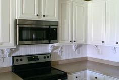 Painted both the cabinets AND the countertops using Rustoleum Cabinet Transformation kit and the Rustoleum Countertop kit. Countertop Kit, Kitchen Cabinets And Countertops, Painting Kitchen Cabinets, Kitchen Paint, Kitchen Backsplash, Kitchen Design, Kitchen Ideas, White Cabinets, Backsplash Ideas