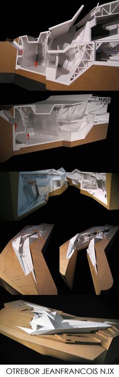 - a section - Architektur Folding Architecture, Architecture Drawings, Futuristic Architecture, Architecture Details, Interior Architecture, Architecture Portfolio, Architectural Section, Architectural Models, Arch Model