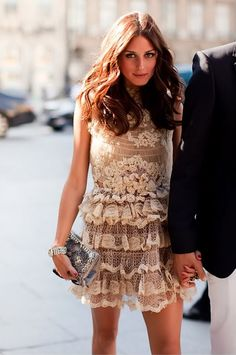 Olivia Palermo love this dress!!!