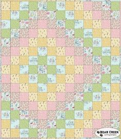 Picnic In The Park Free Quilt Pattern by Lewis and Irene Fabrics