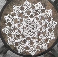 Silversmithed:  jewelry and tatting shuttles............                          Glass blowing:   crochet hooks, dinosaurs, ice sickles, pens, earrings, and spoons..........           Tatting:  jewelry, motifs, doilies, hankies, books, crosses, and much more.