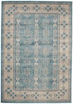 Zaina - Blauw tapijt 160x230 (199 euro)