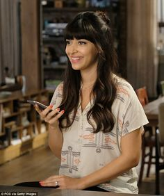 Keeping busy: In addition to continuing her role as Cece Parekh on New Girl (pictured), Hannah will soon be hosting the upcoming Fox game show Kicking and Screaming Cece New Girl, New Girl Pic, New Girl Tv Show, Bad Hair, Hair Day, 70s Haircuts, Pretty Hairstyles, Girl Hairstyles, Hannah Simone