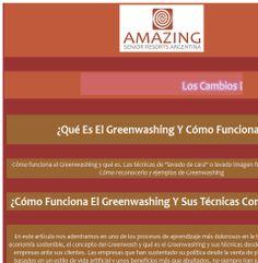 Arq.Paulina Wajngort - AMAZING Senior Resorts - ¿Qué Es El Greenwashing Y Cómo Funciona?
