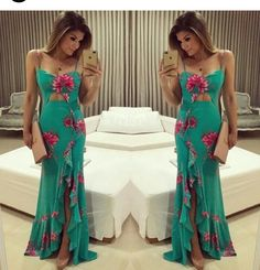 Classy Outfits, Beautiful Outfits, Bridesmaid Dresses, Prom Dresses, Summer Dresses, Dress Skirt, Dress Up, Chiffon Dress Long, Mermaid Dresses