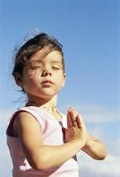praying children images | Let your child celebrate with an altar of her own.