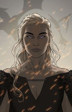 Mother of Dragons Danyeres Targaryen, Daenerys Targaryen Art, Got Dragons, Mother Of Dragons, Daenerys Targaryen Aesthetic, Game Of Thrones Artwork, Game Of Trones, Modern Games, Valar Morghulis