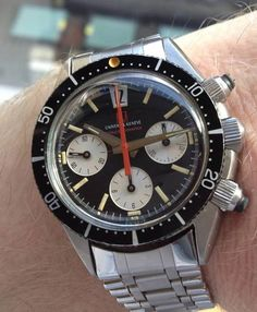 Rare Space-Compax By Universal Geneve #Womw #Menswear #Watches #Spacecompax #Compax #Chronograph #Universalgeneve #Watchporn #Classic - omegaforums.net