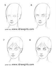 How to draw animated head