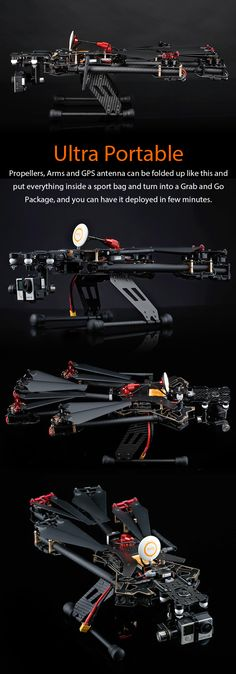 Co-operating with T-Motor, reaching for Maximum Flight Time with  best material and radical design  Presenting the  Storm Drone AntiGravity   w/ NAZA V2 GPS   in Ready to Fly Package Do you want