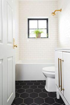 Hall Bathroom, Upstairs Bathrooms, Bathroom Renos, Remodel Bathroom, Budget Bathroom, Small Bathroom Renovations, Bungalow Bathroom, Small Bathroom Makeovers, Bathroom Remodeling