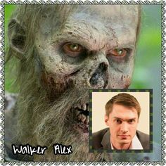 Alex |The Walking Dead Zombies Before and After Makeup