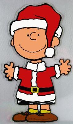 Charlie Brown Santa print and cut Christmas Yard Art, Christmas Yard Decorations, Christmas Wood, Christmas Pictures, Charlie Brown Christmas Decorations, Xmas, Merry Christmas, Peanuts Cartoon, Peanuts Snoopy
