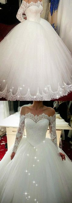 Wow Wedding Dress!!! #weddingdress #bridalgown #sayyestothedress