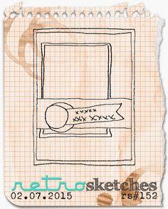 retro sketches : a challenge: retrosketches #152...