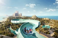 Waterparks are so much fun. This snap is from Aquaventure at Atlantis the Palm.