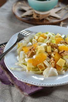 Salade composée d'hiver aux endives et oranges - Tangerine Zest