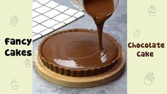 Chocolate Desserts, Chocolate Cake, Fancy Cakes, How To Make Chocolate, Mad, Pudding, Youtube, Recipes, Tie Dye