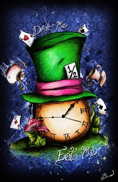 """Have I gone mad""...The Hatter on Behance"