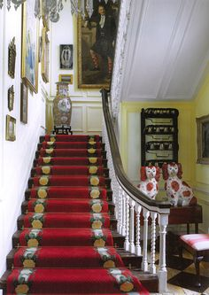Dorothy Draper & Co. - Shannongrove House, Ireland