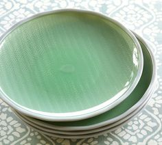 Sea Glass Outdoor Salad Plate, Set of 4 | Pottery Barn