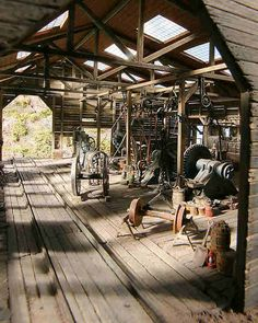 Engine House interior - General Discussion (Model Railroader) - Model Railroader - Trains.com online community
