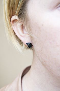 The natural look of these earring are so great- perfect for when I want to switch things up from my basic stud.