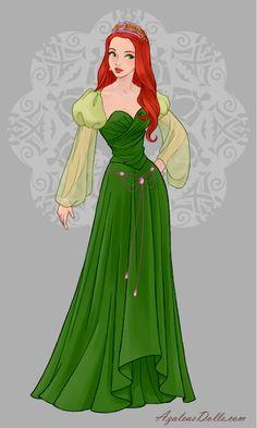 Disney Princess Fashion, Disney Princess Pictures, Disney Princess Art, Disney Princess Dresses, Disney Dresses, Princess Style, Disney Fan Art, Princesa Anastasia, Robes Disney
