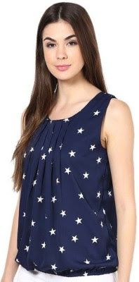 Rashi Creation Party Sleeveless Printed Women's Dark Blue Top - Soroposo Buy Dark Blue Rashi Creation Party Sleeveless Printed Women's Dark Blue Top For Only Rs. 299 http://fkrt.it/nK4xyNNNNN This item is currently available and can be bought at the total price of Rs 299. #Clothing #WomensClothing #Lingerie #Sleepwear #Swimwear #RashiCreation#flipkart #JollyJulyOffers #soroposo #blue