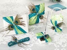 Peacock Feather Wedding Collection