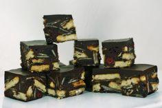 Tiffin by timetocookonline: A nobaker of nuts, raisins, chocolate, cranberries, tea biscuits +/- rum!