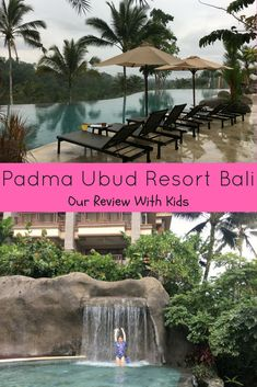 Our review of our stay at the Padma Ubud Bali Resort with our 2 kids. Full of photos and info on this gorgeous resort. #bali #baliwithkids #ubud #padmaresort Bali Family Holidays, Ubud Resort, Bali With Kids, Hotels For Kids, Denpasar, Bali Travel, Water Slides, Ultimate Travel, Travel