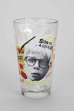 A Christmas Story Pint Glass - Urban Outfitters