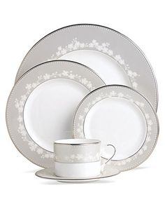 Lenox Dinnerware, Bellina 5 Piece Place Setting - Fine China - Dining & Entertaining - Macy's