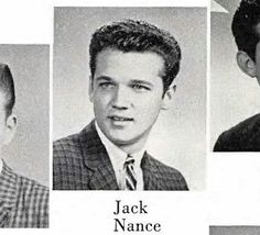 Jack's high school (maybe) yearbook photo.