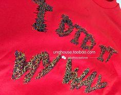 동국대 문 구입 2016 가을 여성의 새로운 편지 쓰기 머리 레이스 랜턴 슬리브 스웨터 소매 T 셔츠 - Taobao의 글로벌 역