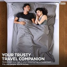 Amazon.com : Sleeping Bag Liner - Camping & Travel Sheets for Adult - Sleeping Sack & Sheets for Backpacking, Hotel, Hostels & Traveling - Lightweight Single Sleep Sack - Comfortable Sleep Liners - Gray w/ Zipper : Sports & Outdoors Backpacking, Camping, Travel Checklist, Sleep Sacks, Sleeping Bag, Hostel, Traveling, Outdoors, Zipper