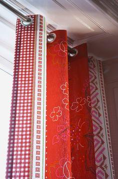 gordijn met ingeslagen ringen #gordijn #curtain te verkrijgen bij, Deco ideeën