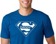 Super camisa de Papá cumpleaños camisa camisa de Papá edad