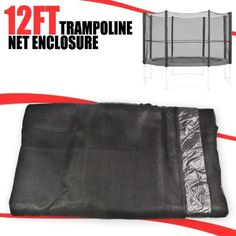 12' Trampoline Safety Net Enclose Netting 12 FT by Talentstar. $40.00. Don't risk getting an unnecessary injury. With these trampoline nets you are potentially saving you or a loved one from getting a potential injury. By spending a little money to buy trampoline nets you are saving yourself the pain of seeing someone in pain. Our nets are not only well priced but they are well built too. Due to the terylene polyester found in the fabric the nets keep shape and a...