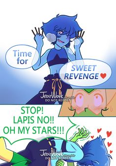 I know I'm late but here's this year's POCKY'S DAY LAPIDOT COMIC! 💙💚 Also it's my first Lapis on top fanart I think :) Sorry for not update much recently guys, hope you like it! Steven Universe Quotes, Steven Universe Anime, Steven Universe Ships, Steven Universe Wallpaper, Steven Universe Drawing, Steven Universe Lapidot, Lapis And Peridot, Marvel Films, Cute Comics