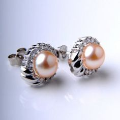 $44 pearl earrings on www.ClassyJewelry.com. Code JANIE for 20% off. Save up 50%. Unique design.