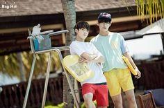 [Picture] Wow~ c'est l'été! Les vacances des BTS à Kota Kinabalu | btsdreams