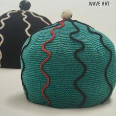 crochet hat from tapestry crochet book pattern from Tapestry Crochet and More book