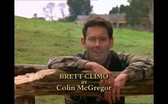 He was one if my faves too! The preacher Colin Mcgregor, Man From Snowy River, Film Books, Saga, The Man, Music, Doctors, Life, Fictional Characters