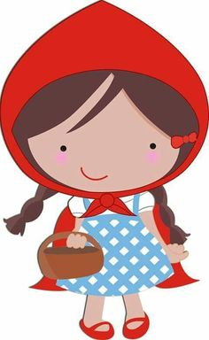 .**✿*CAPERUCITA ROJA*✿** Red Riding Hood Party, Little Red Ridding Hood, Cartoon Books, Marionette, Barbie Party, Creative Activities, Cute Illustration, Cute Cartoon, Cute Wallpapers