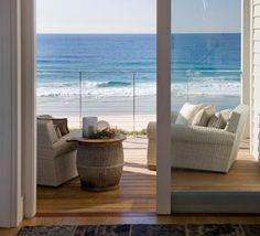 Coastal Style: A Modern Aussie Beach House Coastal Style, Coastal Living, Luxury Living, Outdoor Spaces, Outdoor Living, Outdoor Ideas, Theoule Sur Mer, Dream Beach Houses, Decks And Porches
