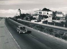 Carretera de la Coruña altura de la Florida año 1966 Foto Madrid, Florida, Spain, Public, Nostalgia, Zaragoza, Santiago De Compostela, Old Pictures, Parks