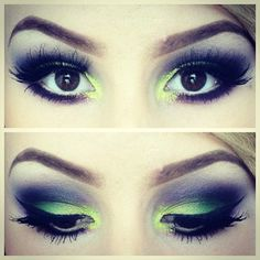 This makeup look is so beautiful! I love the colors!