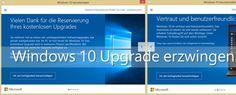Windows 10 ist seit 29.07.2015 00:00 Uhr Ortszeit (Redmond) verfügbar! So erzwingen Sie das direkte Update auch wenn es für Sie nur reserviert ist,
